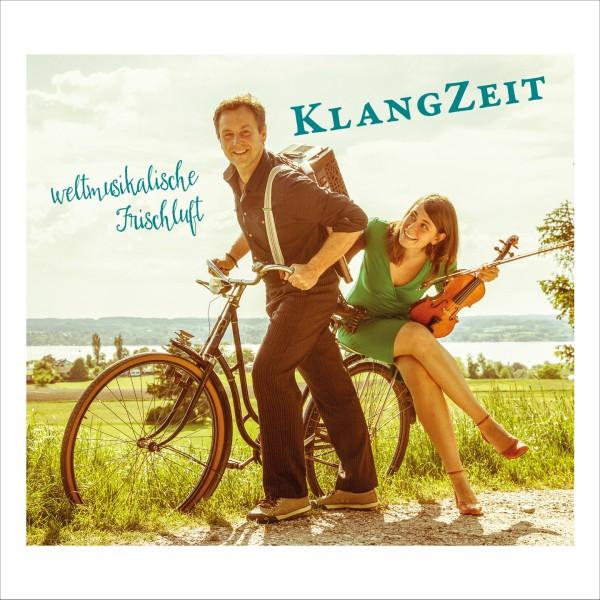 KlangZeit: weltmusikalische Frischluft Backcover