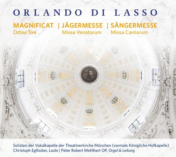 Orlando di Lasso - Vokalkapelle der Theatinerkirche München - Cover