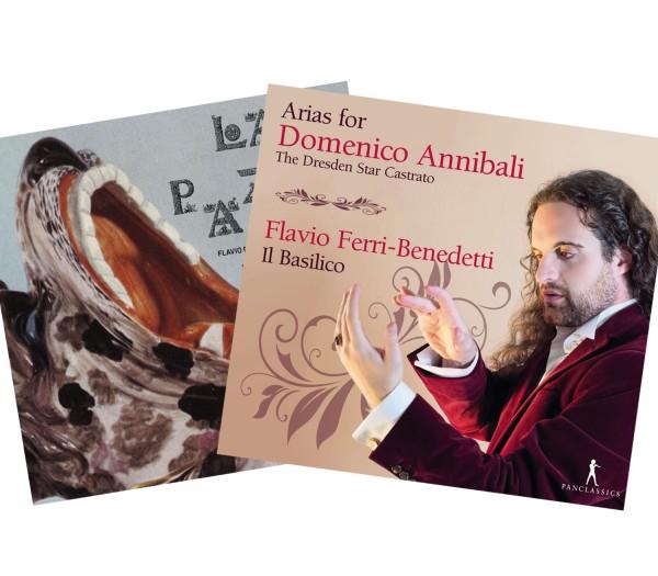BUNDLE – Arias for Domenico Annibali & La Pazza